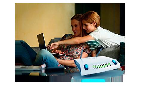 Kvalitní Wi-Fi modem pro celou domácnost