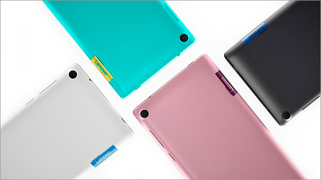 Lenovo TAB3 7 16 GB LTE - barevné kombinace
