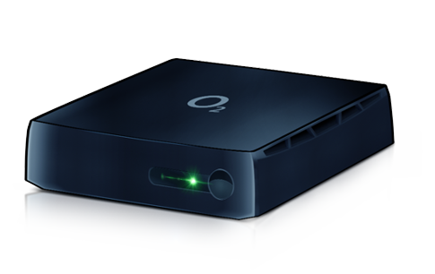 O2 TV set-top box