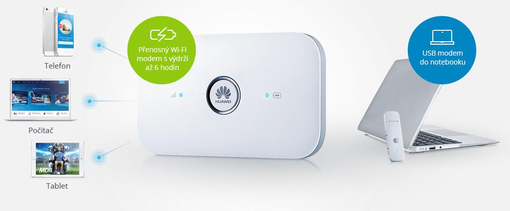 O2 mobilní internet - možnosti zapojení