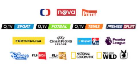 Kanály O2 TV Stříbrná