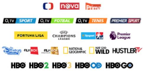 Kanály O2 TV Zlatá