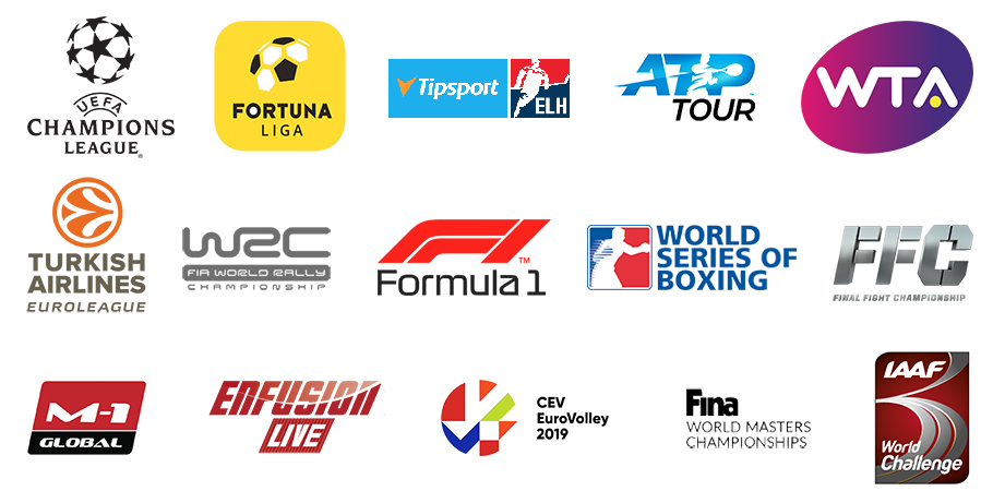 Výběr sportů na O2 TV