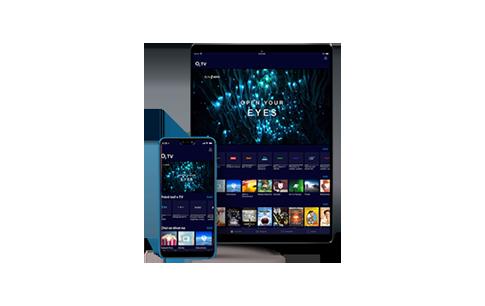 Sledujte O2 TV na 3 zařízeních současně