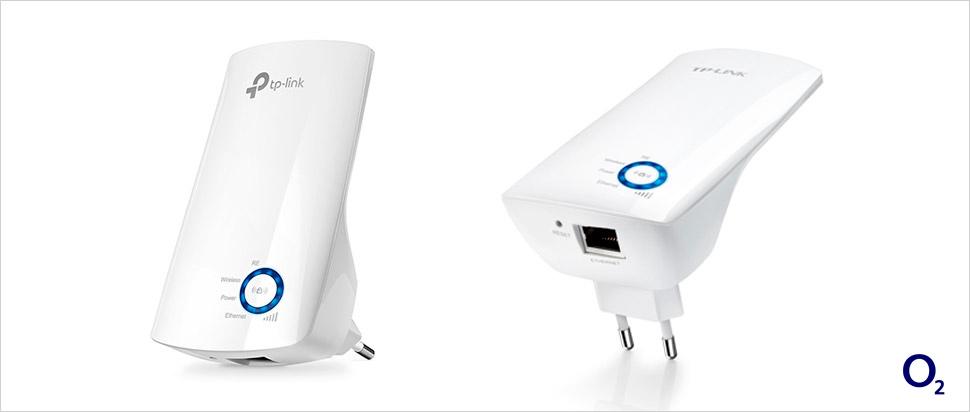 O2 internet s dárkem - Wi-Fi zesilovač zdarma